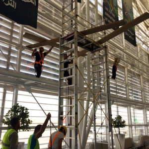 AIRPORT SOLAR FILM INSTALLATION PROJECT